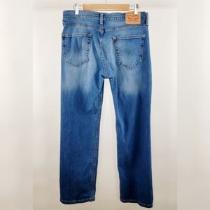 LEVI'S Mens 514 Classic Straight Fit Jeans Medium Rinse